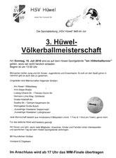 15. 7. Völkerball-Turnier