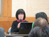 講師の「地域のお茶の間研究所さろんどて」代表 早川仁美さん