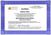 Ausbildungszertifikat Sport Mentaltraining Reiten