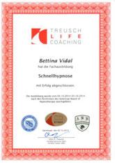 Zertifikat Schnellhypnose