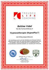 Zertifikat Fachausbildung Hypnosetherapie HypnoPlus