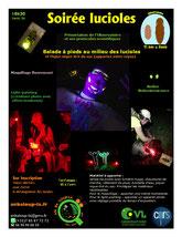 Balade avec les lucioles et l'Observatoire scientifique
