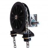Schneckenradgetriebe, 2 m