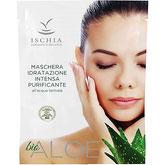 maschera in tessuto tnt idratazione profonda purificante aloe bio con acqua termale di Ischia