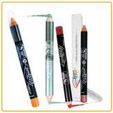 Prodotti make-up purobio, matitoni occhi e labbra
