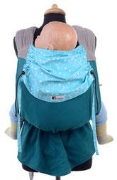 Huckepack Podaegi, die mitwachsende Babytrage