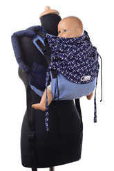 Onbu baby carrier, back carrier, no hipbelt