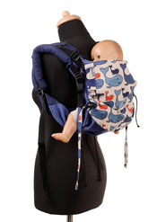 Onbuhimo baby carrier, babywearing kids, wrap conversion