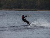 Bild: Kite-Surfen, Rerik, Salzhaff, www.mollisland.de