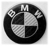 Picture of a German car brand BMW.