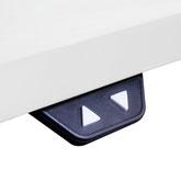 Höhenverstellbarer Schreibtisch Schalter