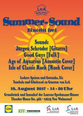 LeA Summer Sound Plakat