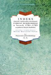 Indeks właścicieli i użytkowników nieruchomości cyrkułu dukielskiego w latach 1785-1789 na podstawie Metryki Józefińskiej