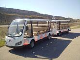 turisticke vozidla pre pesie zony, turisticke oblasti, zoo, letiska, obchodne strediska