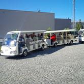 Ausstellung Bus Elektrisch betrieben