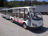 QS E POWER - Elektro Shuttle BUS , Elektro bummelzug