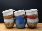 Keramik Tassen Becher Trinkgefäß