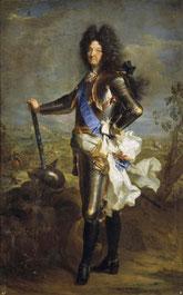 Hyacinthe Rigaud et atelier - portrait de Louis XIV, 1701/  Madrid, musée du Prado © d.r.