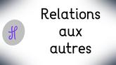 Relation aux autres