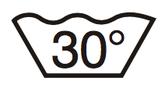 waschen bei 30°