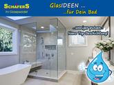 Sanierung Dusche ganz easy mit Ganzglasduschen, weniger Putzen duch Nanatechnologie - Glas Schäfers Paderborn