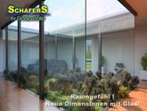 Atrium - lassen Sie die Natur ins Haus - mit Glas wird dieser Traum wahr - Glas Schäfers berät Sie gerne.