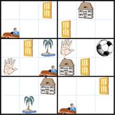 Bilder-Sudoku © Rätselbüro Martin Simon