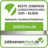 Jobbörsencheck Beste Jobbörse Kategorie Kundenzufriedenheit Logo