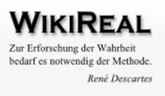 WikiReal Logo