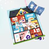 Spielmatte Puppenhaus