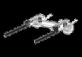Rahmenverlängerung und Rahmenadapter als Grundstein für weitere Anbaute wie Anhängerkupplungen oder Heckträger für Wohnmobile, Reisemobile und Kastenwagen.