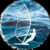 windsurfen lernen im surfkurs an der ostsee in rerik in der surfschule