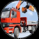Transportunternehmen Nußdorf, Oberbauer Transporte und  Baggerbetrieb