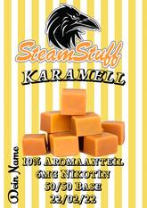 Karamellaroma, Karamelliquid, Karamell online kaufen, Karamellliquid selbst mischen