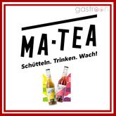 Matscha Tea in Flaschen