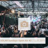 Logo Solar Sundays Open Air Mai 2019 Halle Tor 2, Die Halle Tor 2, Halle Tor 2, Party, Disko, Tanzen, Club, Kölner Nachtleben, Event, Veranstaltung heute, Musik, Eventlocation Köln