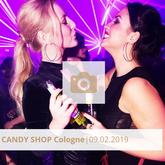 Logo Candy Shop Februar 2019 Halle Tor 2, Die Halle Tor 2, Halle Tor 2, Party, Disko, Tanzen, Club, Kölner Nachtleben, Event, Veranstaltung heute, Musik, Eventlocation Köln