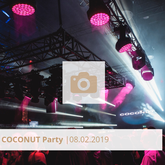 Logo Coconut Party Februar 2019 Halle Tor 2