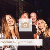 Logo Coconut Party Juni 2019, Die Halle Tor 2, Halle Tor 2, Party, Disko, Tanzen, Club, Kölner Nachtleben, Event, Veranstaltung heute, Musik, Eventlocation Köln
