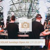 Logo Solar Sundays Open Air März 2019 Halle Tor 2, Die Halle Tor 2, Halle Tor 2, Party, Disko, Tanzen, Club, Kölner Nachtleben, Event, Veranstaltung heute, Musik, Eventlocation Köln