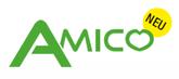 Amico ist eine neue Technologie die Haustiere von Verletzungen schützt. Fährt Ambrogio in den Sicherheitsabstand des Haustieres, schaltet er automatisch das Mähwerk ab und ändert seine Richtung.