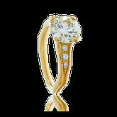 Spezialanfertigung Brillant Solitär Ring von der Goldschmiede OBSESSION Zürich und Wetzikon