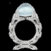 Ring in Rotgold mit Brillanten und Ming-Perle aus der Eternity Kollektion der Goldschmiede OBSESSION Zürich und Wetzikon