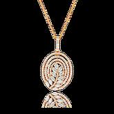 Spezialanfertigung Diamant Kettenanhänger von der Goldschmiede OBSESSION Zürich und Wetzikon