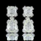 Spezialanfertigung Diamant Ohrringe von der Goldschmiede OBSESSION Zürich und Wetzikon