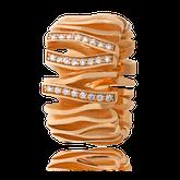 Schmuck-Ring in Rotgold mit Brillanten aus der Himalaja Kollektion der Goldschmiede OBSESSION Zürich und Wetzikon