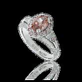 Spezialanfertigung Diamant Schmuck Ring von der Goldschmiede OBSESSION Zürich und Wetzikon