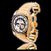 Handgefertigtes Uhren-Armband in Rotgold. Auf Kundenwunsch angefertigt, passend zur Armbanduhr La Monégasque von Roger Dubuis. Goldschmiede OBSESSION Zürich und Wetzikon