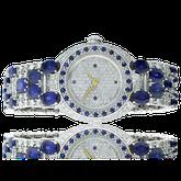 Spezialanfertigung Saphir und Diamant Uhr von der Goldschmiede OBSESSION Zürich und Wetzikon