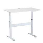 Sitz-Steh Schreibtisch Aufsatz